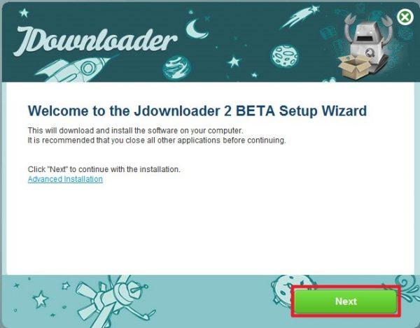 JDownloader 2のインストール方法