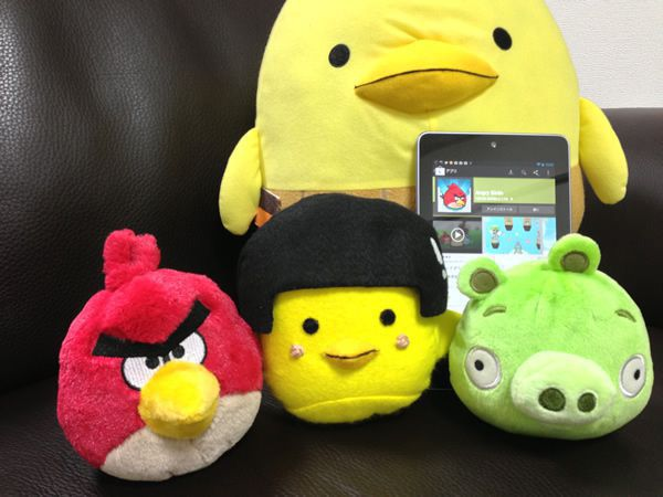 androidではangry birdsが無料です!