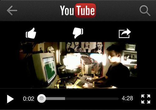 iphoneでGoogle+にYoutube動画を投稿する方法