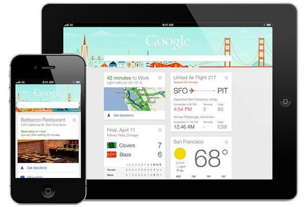 google nowがiphone・ipadでリリース!