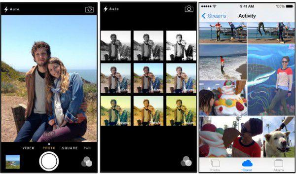 iOS7 カメラ&写真機能