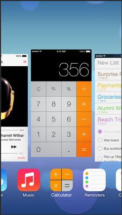 iOS7 マルチタスク機能