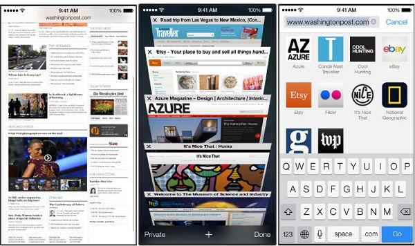 iOS7 Safariが超進化!