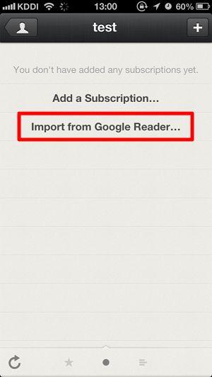 Googleリーダーから「Reeder」へのRSSデータ移行方法