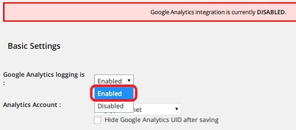 """Google Analyticator""の初期設定方法"