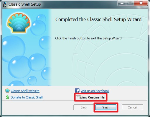「Classic Shell」のインストール方法