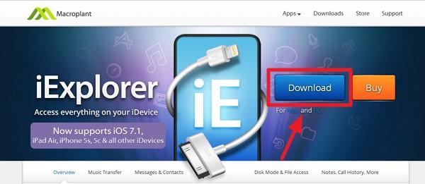 iExproler のダウンロード