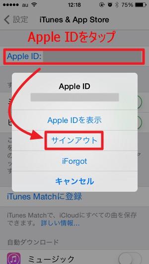 【iphone】海外(アメリカ)のApple ID に切り替える方法