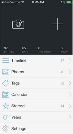 高機能日記アプリ「Day One」