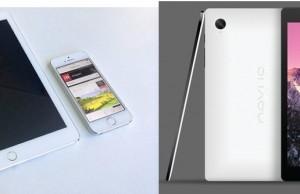 new ipad vs nexus 9