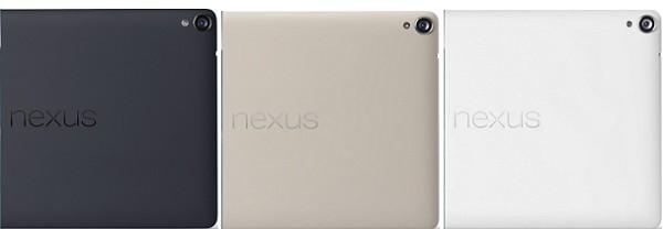 Nexus 9 カラーバリエーション