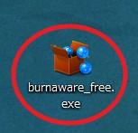 「BurnAware Free」のインストール方法