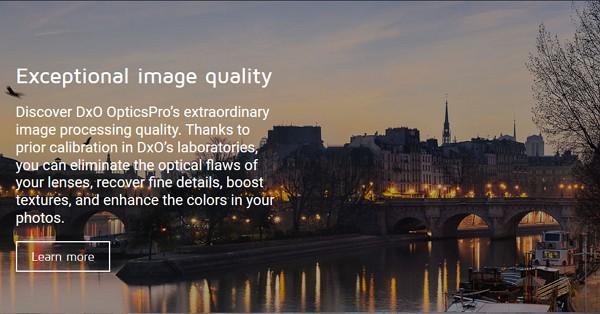 「DxO Optics Pro 8」が期間限定で無料配布中!