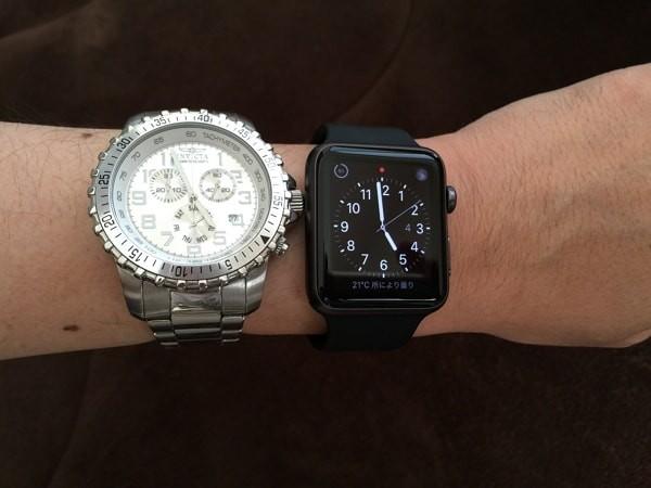 Apple Watch を他の腕時計と比較してみた!