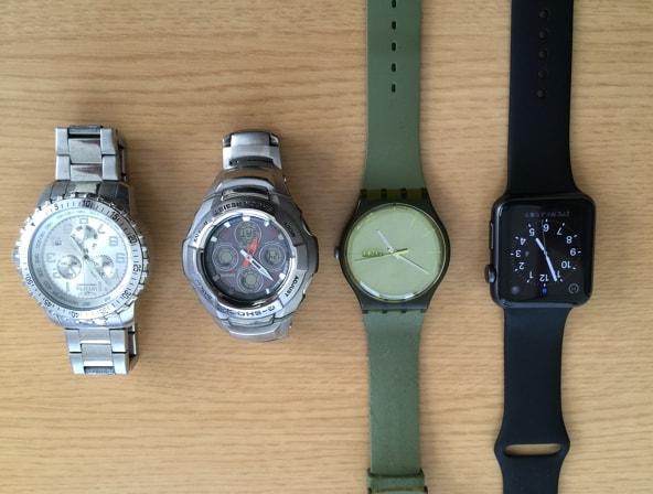 Apple Watchのサイズ比較