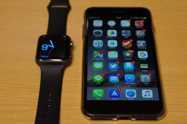 管理人が一番【 Apple Watch 】に対して求めていたのは【 iPhone 6 Plus 】との連係機能