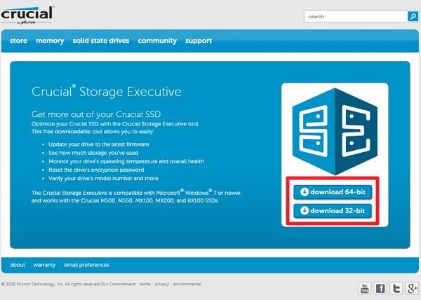 Crucial 製 SSD のファームウェアアップデートなら「 Storage Executive Client 」を使うのがおすすめ!