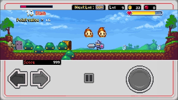 Appleが「今週のApp」として8bit系アクションゲーム「Slayin」を無料配布中