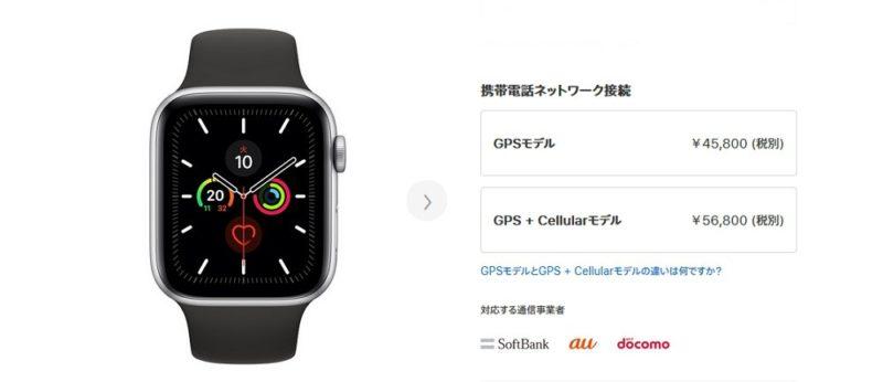 Apple Watchには購入代金以外は原則不要!ただしCellularモデルは別途月額料金が必要になる場合も。