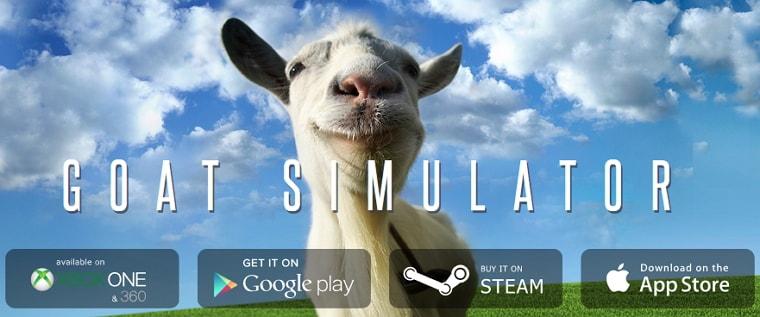 「Goat Simulator」が値下げ!