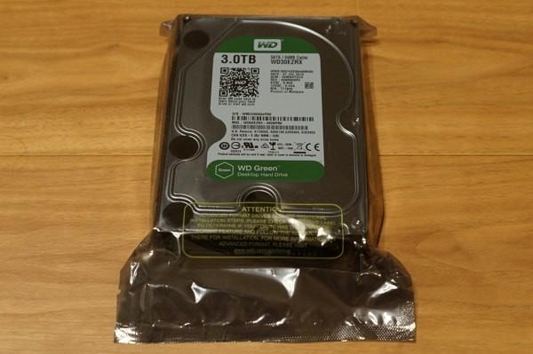 3TBの外付けHDDを自作する方法