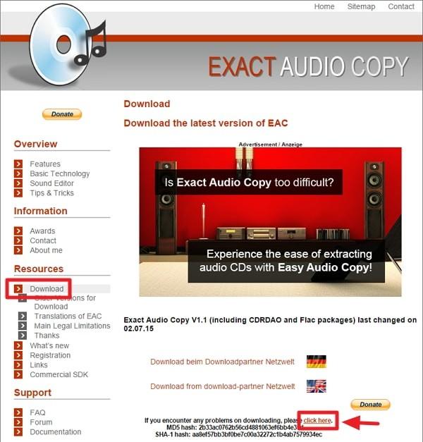 Exact Audio Copyの使い方:インストール方法解説