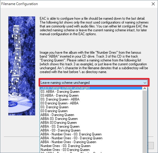 Exact Audio Copyの使い方:設定ウィザード解説