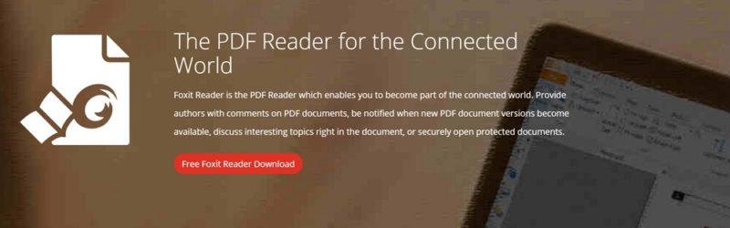 Foxit Reader:無料なのに高機能なPDFビューア