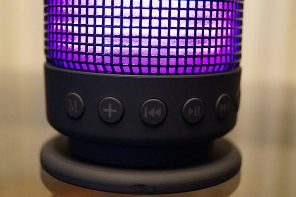 「SoundSOUL LED Bluetooth スピーカー」レビュー