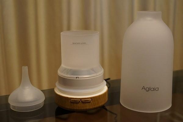 アロマ加湿器「Aglaia BE-A4」の使い方