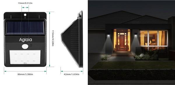 ソーラー充電式LEDライト「Aglaia LT-O1」の仕様/特徴