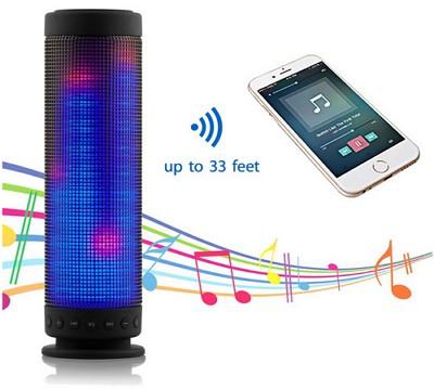 「SoundSOUL LED Bluetooth スピーカー」の仕様/特徴