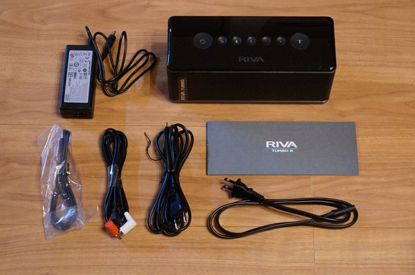 RIVA TURBO X のセット内容