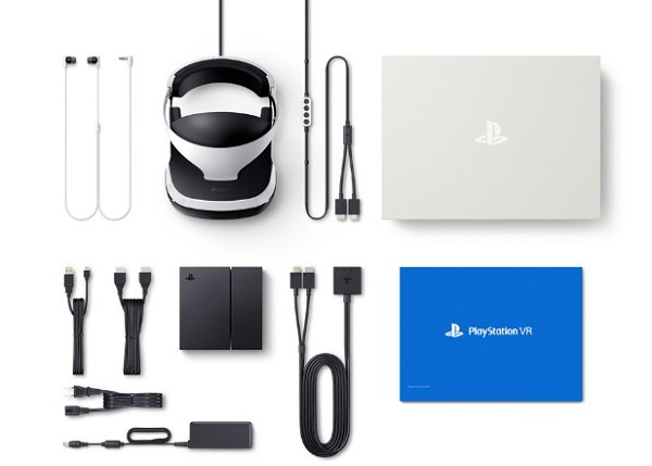 PlayStation VRのセット内容一覧