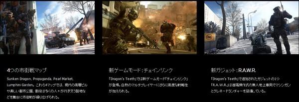 拡張パック「バトルフィールド 4: Dragon's Teeth」と「バトルフィールド ハードライン:Robbery」も5/18まで無料でダウンロード可能!
