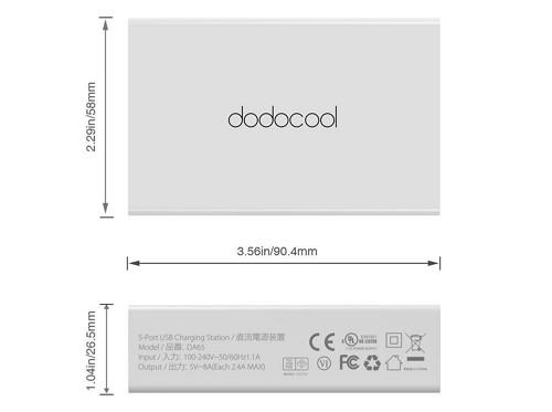 「dodocool 5ポート急速充電器」の特徴・仕様
