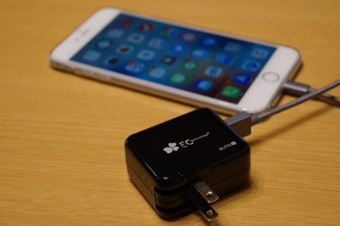 EC Technology 3ポートUSB急速充電器レビュー