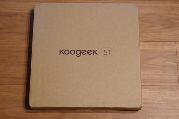 「Koogeek スマートスケール 体重計 S1」の開封レポート