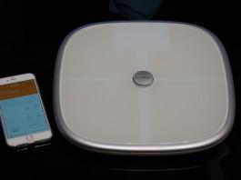 iPhoneとBluetooth・WiFiで連携する体重計「Koogeek S1」レビュー!