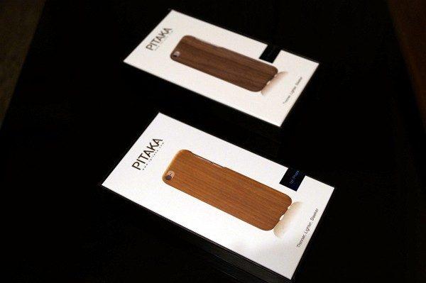 Pitaka iPhone 6/6s/Plus用「黒くるみ天然木」「天然桜ウッド」ケースレビュー