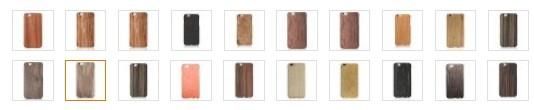 iPhone 6/6s Plus用は全部で19種類。