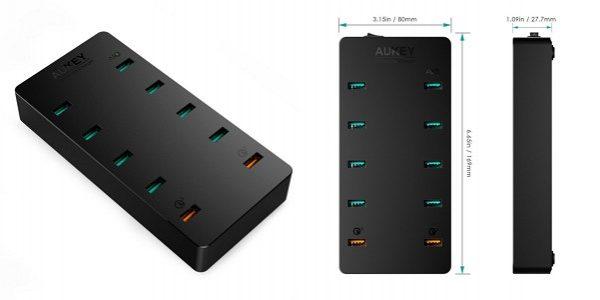 「Aukey 10ポート 70W USB急速充電器 PA-T8」の特徴/仕様