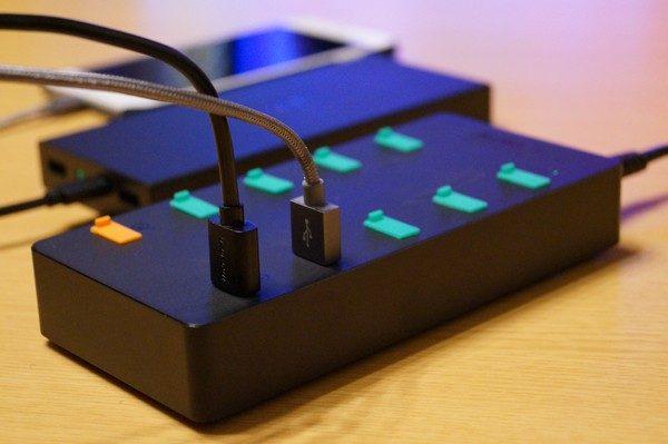「Aukey 10ポート 70W USB急速充電器 PA-T8」レビューまとめ!