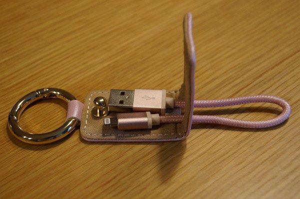 「dodocool ライトニング USBケーブル キーホルダー付き」レビュー