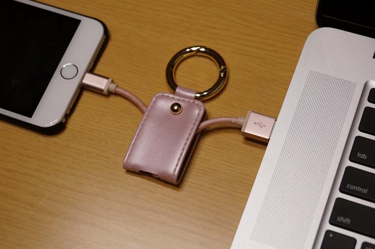 dodocool ライトニング USBケーブル キーホルダー付き