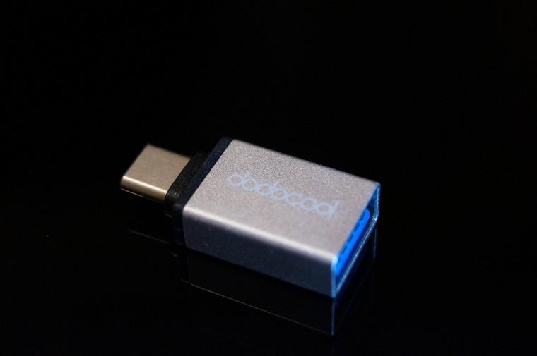 dodocoolのUSB-CポートをUSB 3.0ポートに変換できるコネクタは意外と重宝しそう!