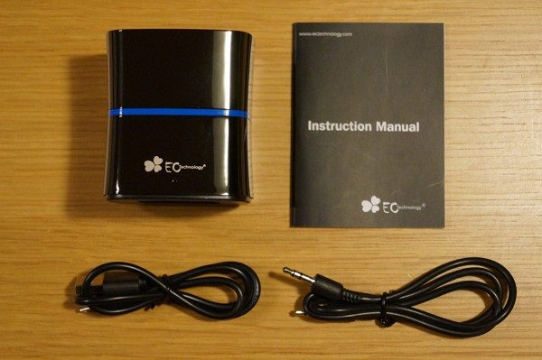 「EC Technology Bluetoothスピーカー EC01」のセット内容
