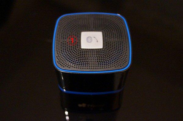 「EC Technology Bluetoothスピーカー EC01」の使い方