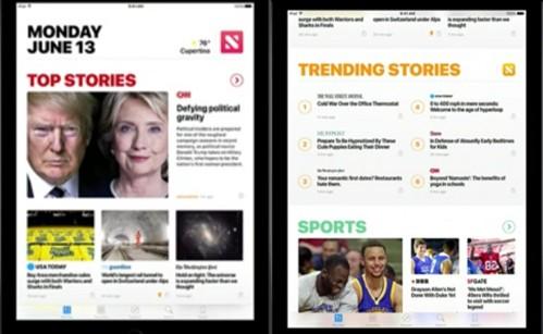 7.「ニュース」アプリがリニューアル