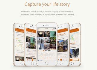 iPhoneの人気ライフログ/日記アプリ「Momento」が基本無料になってリリース中!